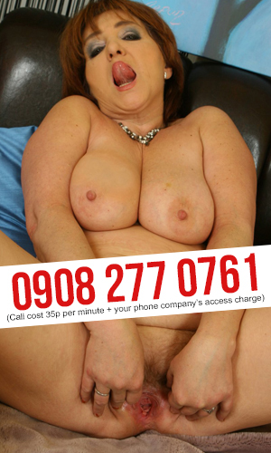 Explicit Granny Phone Sex Chat
