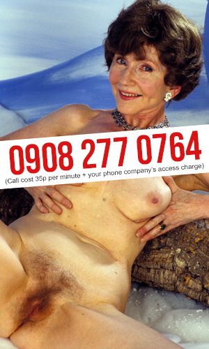 Hairy Granny Phone Sex